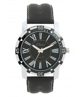 Olvin Mens Analog Watch 15105-SL03